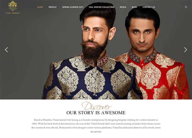 9dzine Portfolio Website Design Vimal Pareek